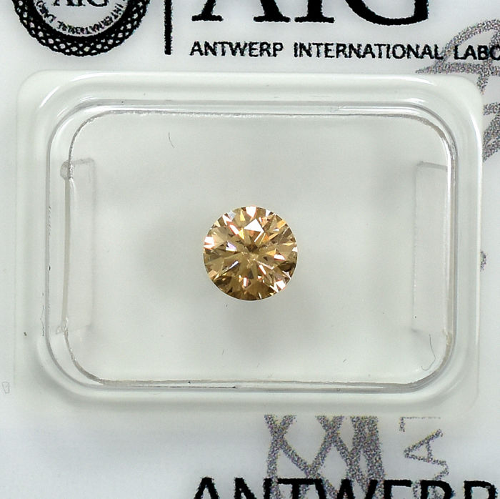 Diamant - 0.60 ct - Brillant - Si1 - NO RESERVE PRICE - EXC/G/EXC