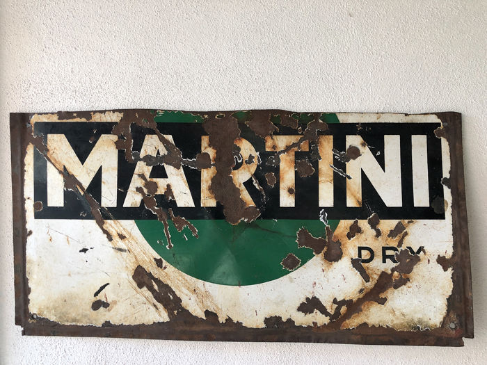 Martini - Sign - Iron (cast/wrought)