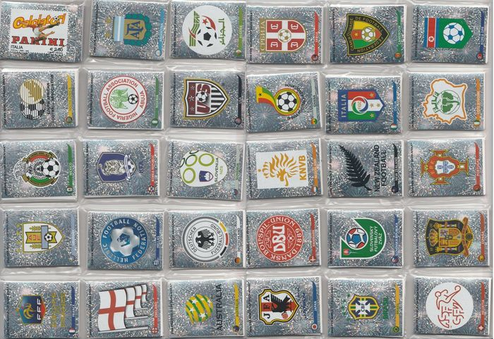 Panini - World Cup Football - Complet Loose Stickerset 640 pièces South Africa 2010
