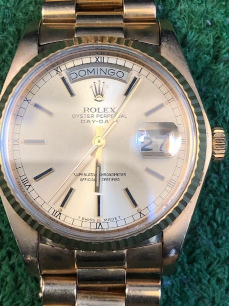 Rolex - Oyster Perpetual Day-Date - Ref. 18038 - Heren - 1981