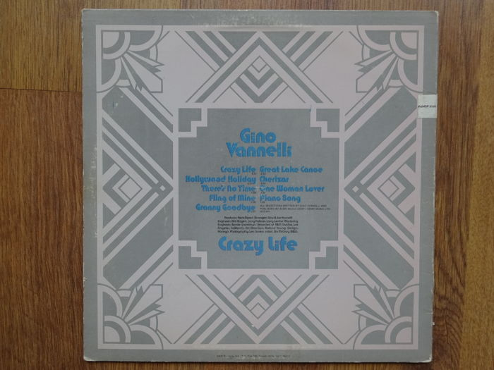 Gino Vannelli, - Crazy Life, Powerful People, Storm At Sunup