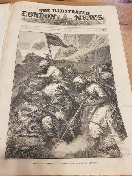 The Illustrated London News, 1880, Afghanistan war - 1900