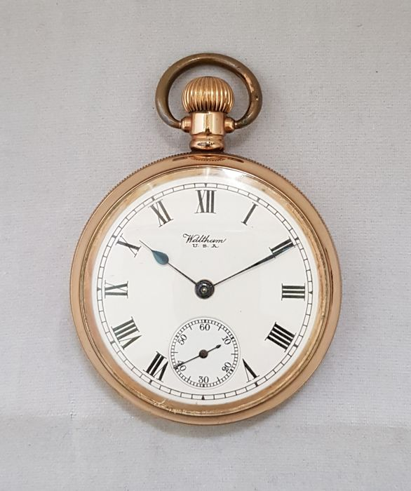 Waltham -  AWW Co. - USA  - pocket watch  - Mężczyzna - 1901-1949