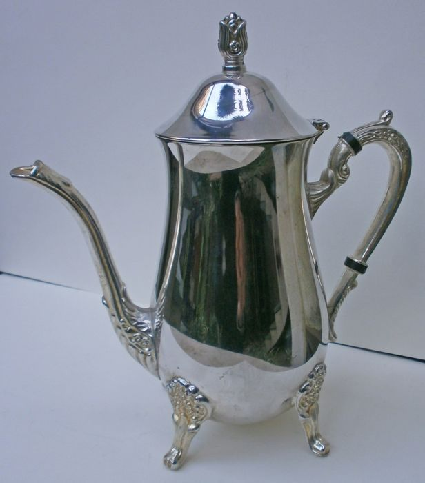 Teapot (1) - Silverplate - Italy - 1900-1949