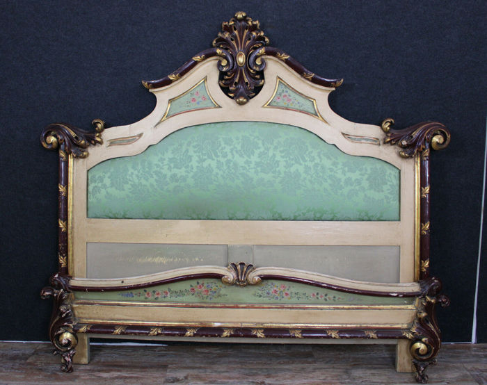Grand Louis XV Baroque bed