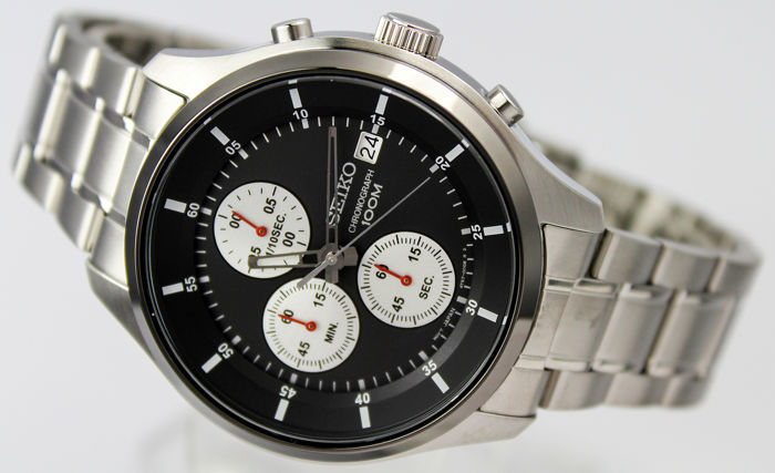 Seiko - 'NO RESERVE PRICE' Chronograph  - New  - Heren - 2011-heden