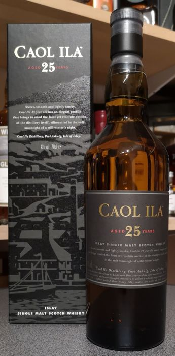 Caol Ila 25 years old - Original bottling - 0.7 L