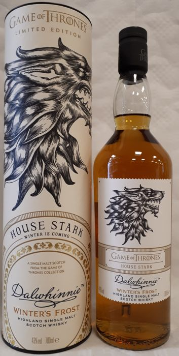 Dalwhinnie Winter's Frost - Game of Thrones - House Stark - Limited Edition - 700ml