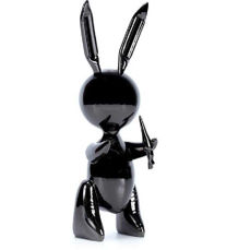 Jeff Koons (created after the artwork of) - Black Rabbit (similar to)