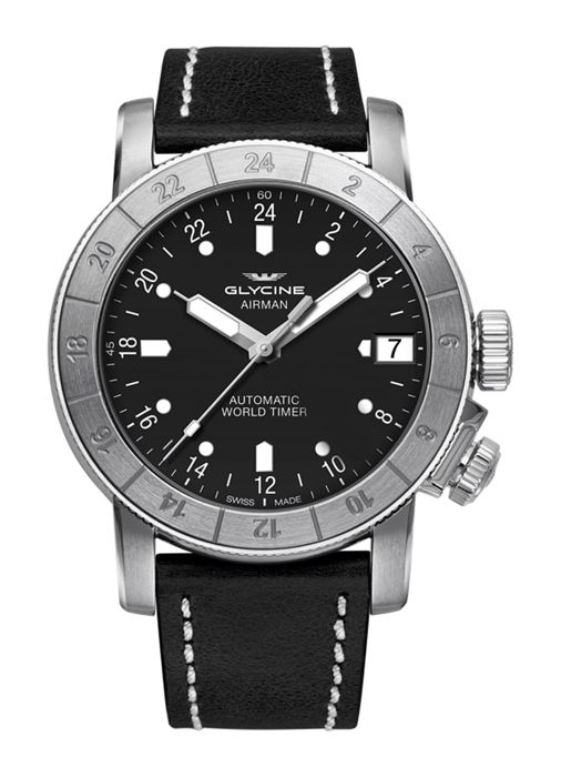 Glycine - Airman 46 Purist Datum GMT Automatik - GL0135 - Men - 2011-present