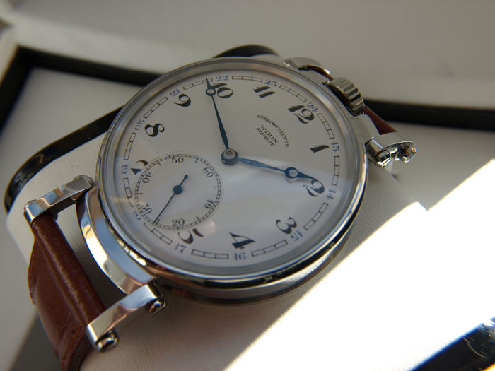 Cortébert - Chronometre Wibin - cal. 532 marriage watch NO RESERVE PRICE - Men - 1901-1949