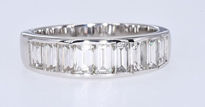 Witgoud - Ring - 1.63 ct Diamant