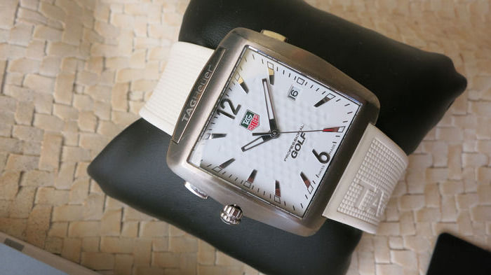 TAG Heuer - Golf TIGER WOODS edition Professional Sport - WAF1112 - Hombre - 2011 - actualidad