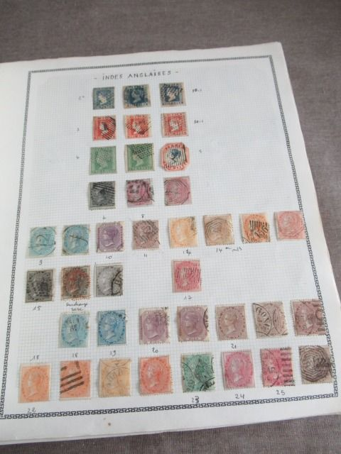 Azië - Advanced collection of classic stamps