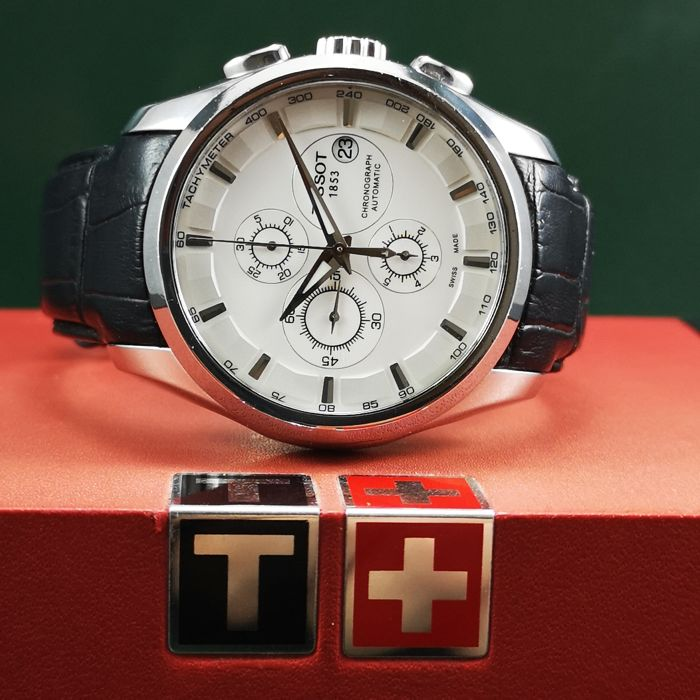 """Tissot - Couturier Chronograph - """"NO RESERVE PRICE"""" - T035627 A - Heren - 2011-heden"""