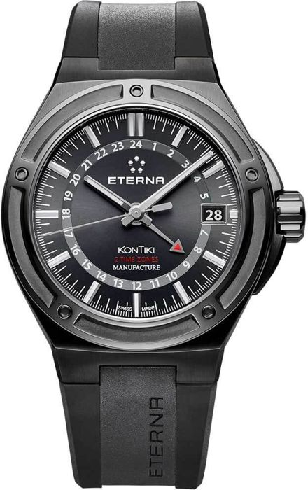 Eterna - Royal KonTiki Manufacture GMT - 7740.43.41.1289 - Heren - 2011-heden
