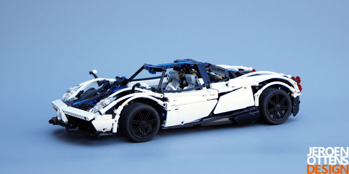 LEGO Technic - MOC - Beautiful Pagani Huayra BC Auction For Charity