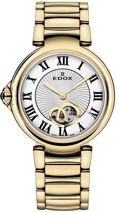 Edox - LaPassion Open Heart Automatik Damenuhr - 85025 37RM ARR - Mujer - 2011 - actualidad