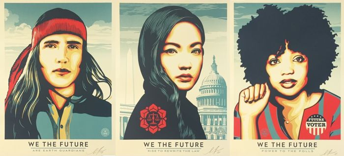 Shepard Fairey (OBEY) - We The Future (complete series)