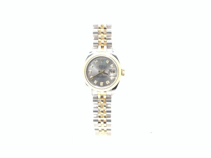 Rolex - Oyster Perpetual Date Just 179173 - D030155 CL63133 - Dames - 1980-1989