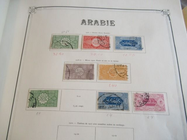 Azië - Important collection of stamps with selected piece