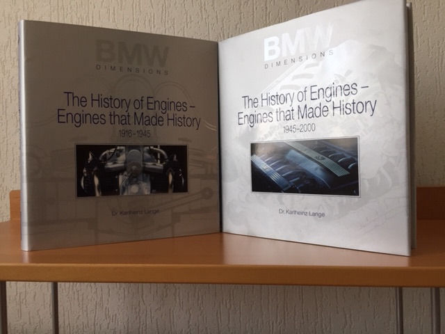 Boeken - BMW dimensions. The History of Engines, Engines that made History  - 1916-2000 (2 items)