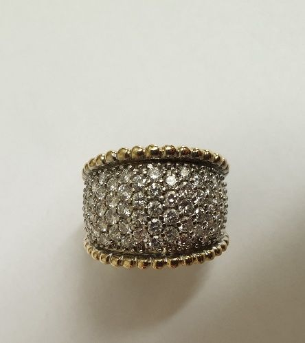 14 kt Gelbgold - Ring - 2.32 ct