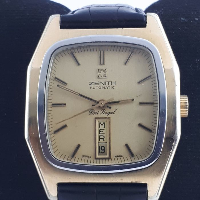 Zenith - Port Royal Day-Date Electro Gold Plated - 20-0122-346 - Homme - 1980-1989