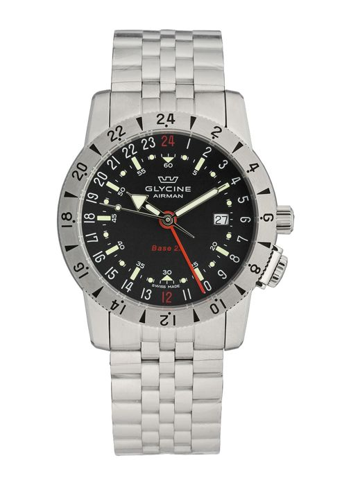 Glycine - Airman Base GMT Datum Automatik - GL0209 - Men - 2011-present