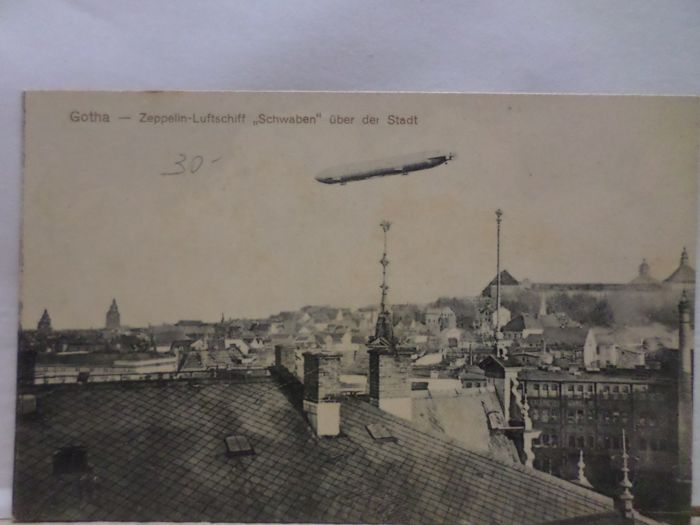 Airplanes, Aviation, Dirigeables (ballons, dirigeables et Zeppelins) - Cartes postales (Collection de 45) - 1900-1960