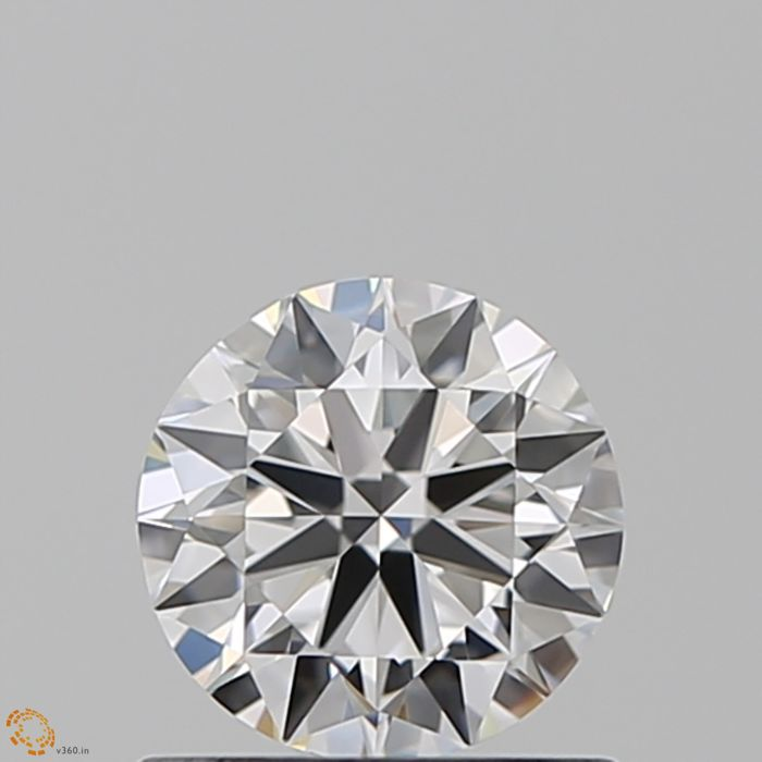 1 pcs Diamant - 0.70 ct - Briljant - D (kleurloos) - IF (intern zuiver)