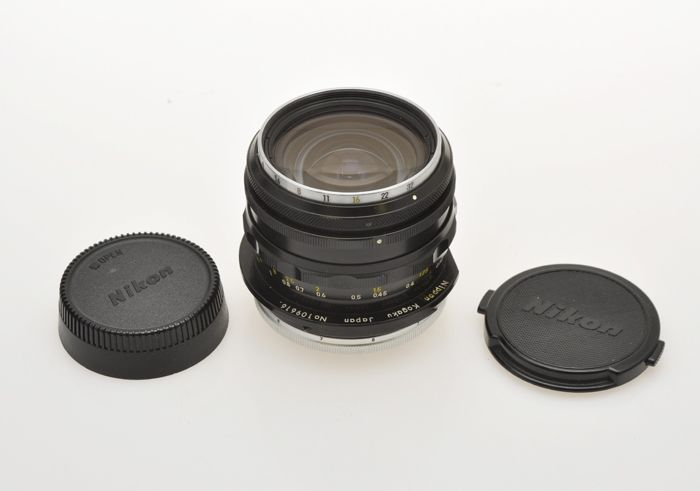 Nikon  rare shift lens 35mm F:3.5 PC-Nikkor NKJ mod. AI, exc++++