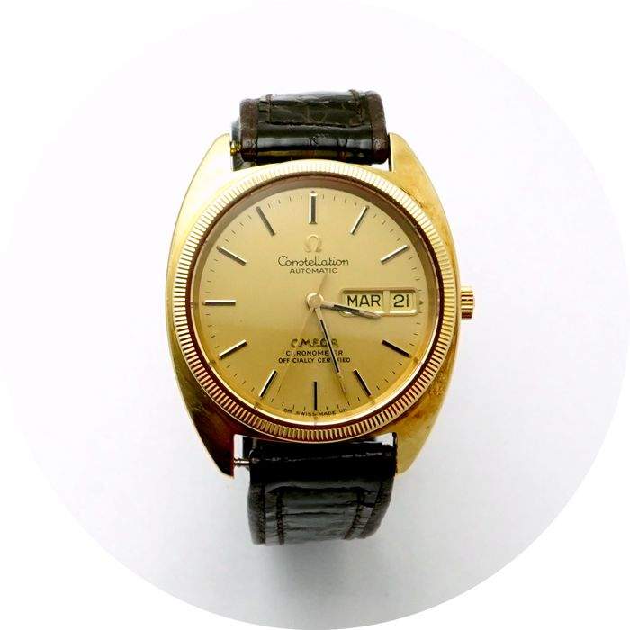 Omega - Constellation Day Date Omega Certified chronometer  - Hombre - 1970-1979
