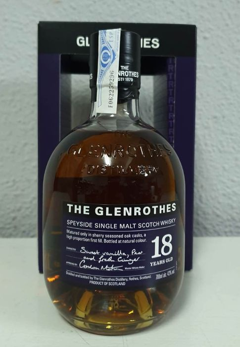 Glenrothes 18 years old - 700ml