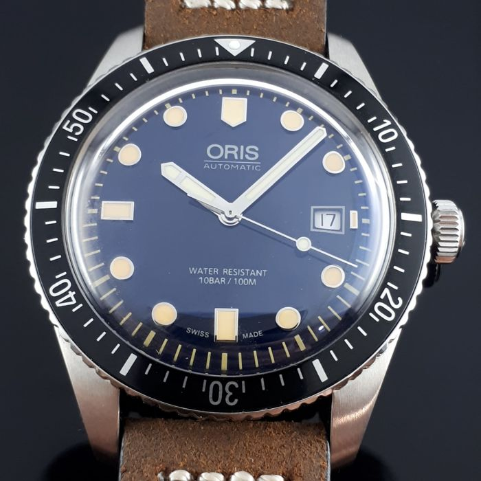 Oris - Diver Sixty- Five Black  Dial - Ref: 7720  - Heren - 2000-2010