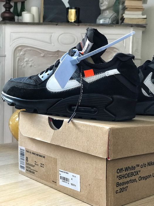 Nike X Off White - Air Max 90 cone  Baskets - Taille: FR 41