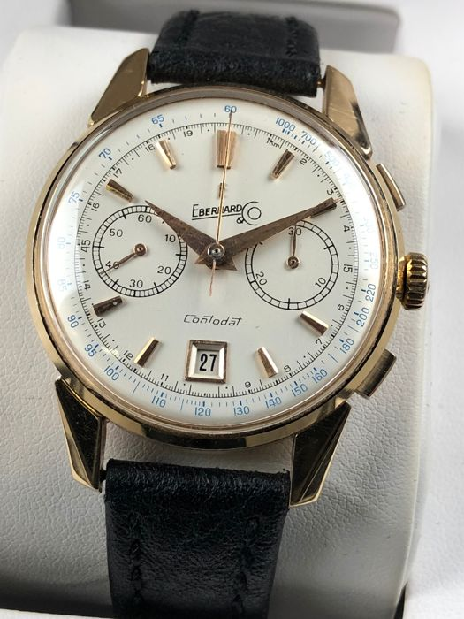 Eberhard & Co. - Contodat Chronograph - Heren - 1960-1969