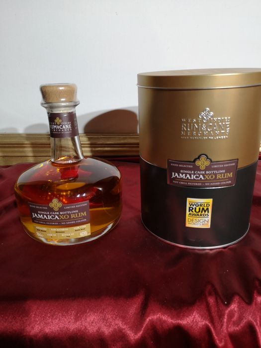 Worthy Park Rum & Cane Merchants - Jamaica XO Single Cask Rum - 70cl