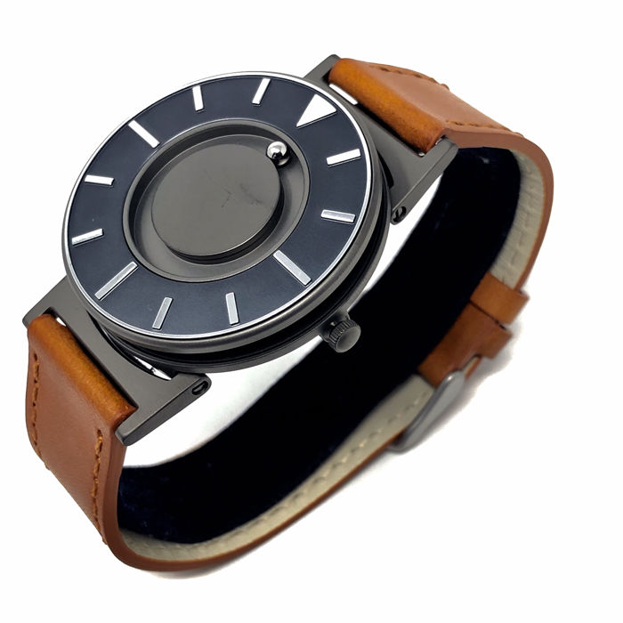 "Eone - Bradley Voyager Cobalt with Brown Italian Leather Strap ""NO RESERVE PRICE""  - BR-DKVO - Unisex - 2011-heden"