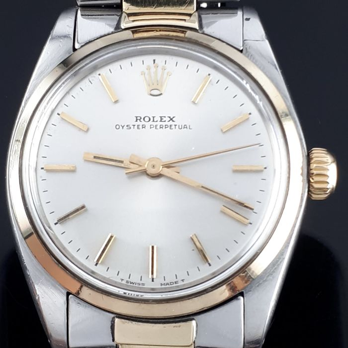Rolex - Oyster Perpetual , Gold & Steel  31mm - Ref: 6748 - Unisex - 1970-1979