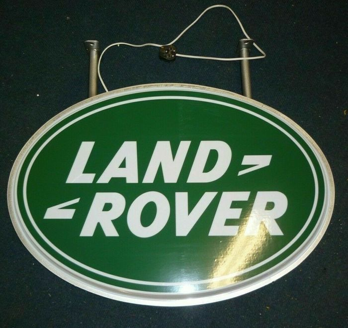 Bewegwijzering - Land Rover - Land Rover Light Up Sign - 1990-2000