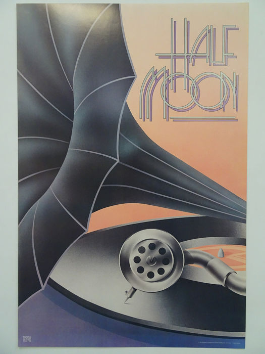 RA, Up Front Graphics - Half Moon - 1982