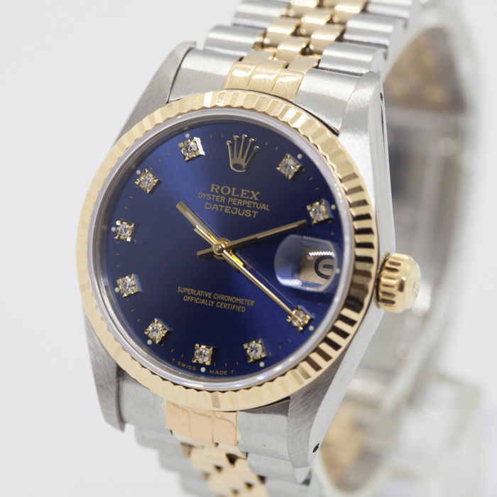 Rolex - Oyster Perpetual DateJust - 68243 - Unisex - 1980-1989