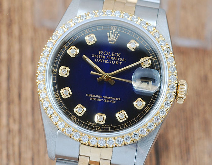 Rolex -  Oyster Perpetual DateJust  - 16013 - Hombre - 1970-1979