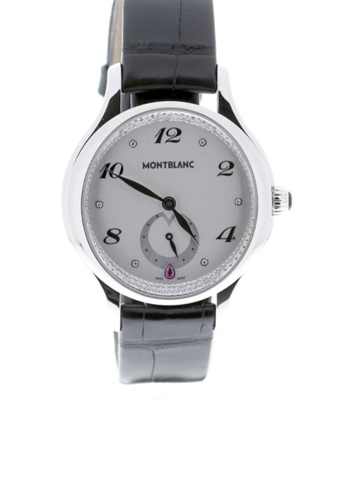 Montblanc - Princess Grace De Monaco Quartz Steel Diamond Set Dial - 106884 - Women - 2019