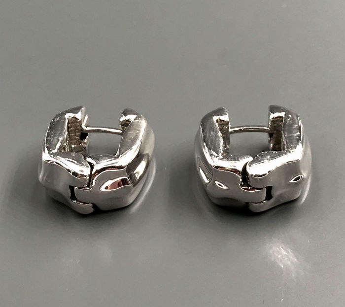 Chimento - 18 kt. White gold - Earrings