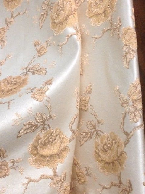2,8x2,68M beautiful san leucio damask fabric - Louis XVI Style - cotton blend