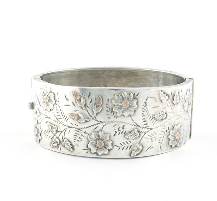 Antique - 800 Silver - Bracelet