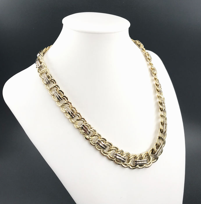 Or blanc, Or jaune - Collier
