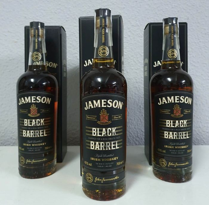 Jameson Black Barrel - 700ml - 3 flessen